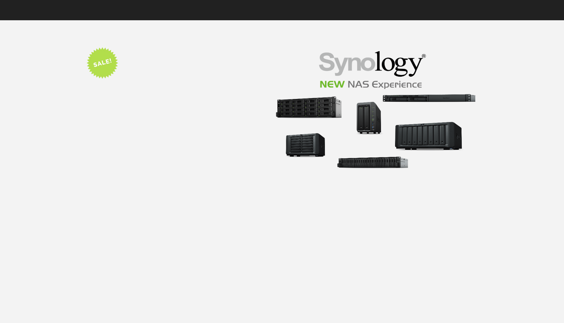 Solutions de Stockage Synology